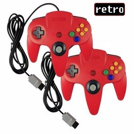 Classic Wired Gamepad Joystick for Ninte
