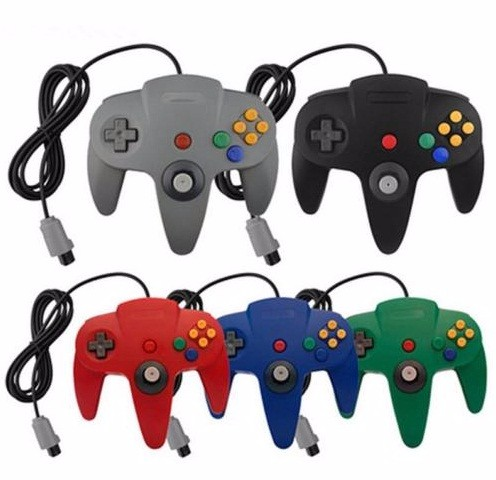 Classic Wired Gamepad Joystick for Nintendo N64